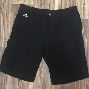 Black men's adidas shorts